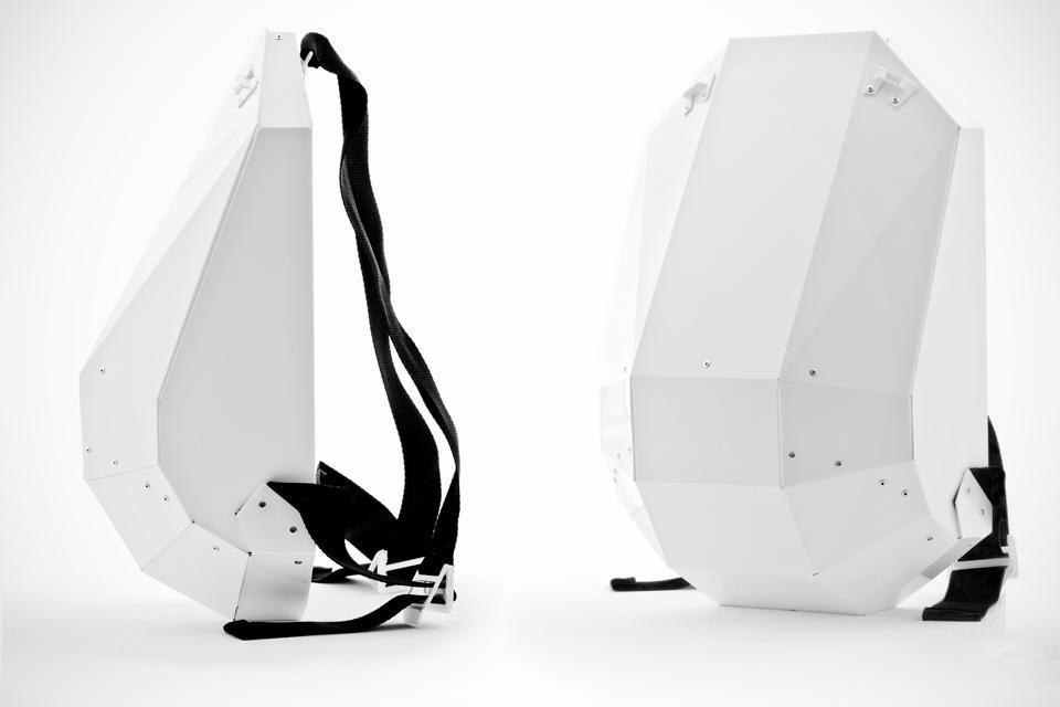 Solid Gray Backpack Collection -Bonjourlife.com