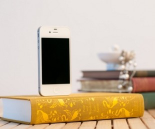 Booksi - Recycled Books iPhone Charger