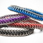 Color Chainmail Bracelet for Men (2)