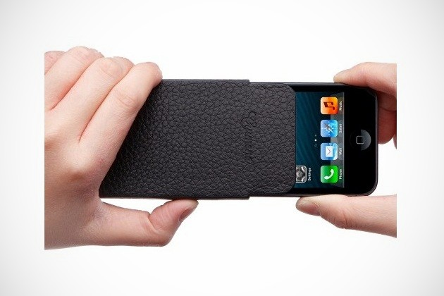 Genuine Leather Pouch for iPhone 5 (2)