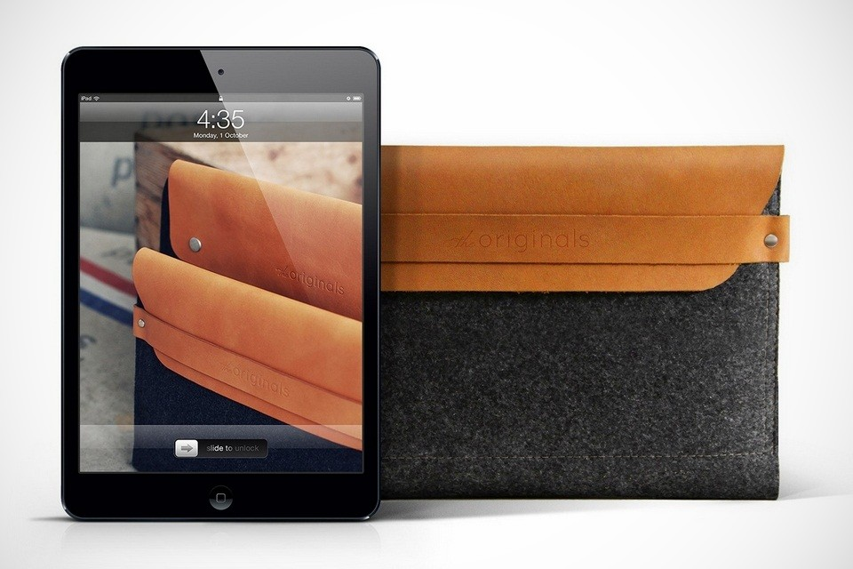 Mujjo Sleeves Up For the iPad Mini