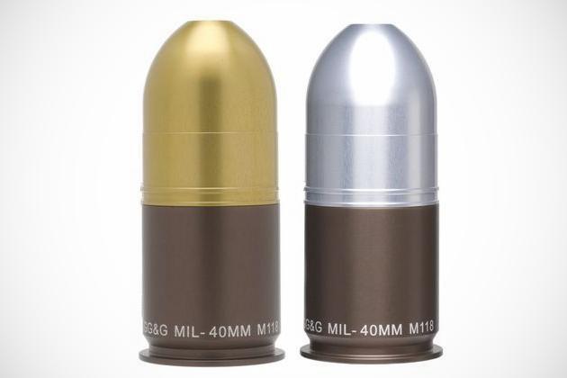 40mm Grenade Salt and Pepper Shak