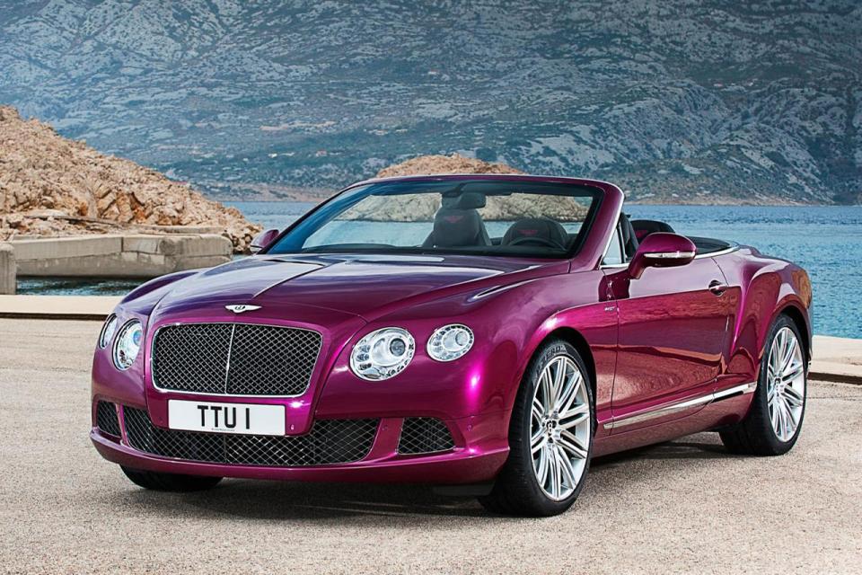 Bentley Continental GT Speed Convertible (1)