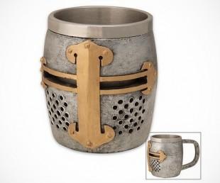 Crusader Helm Coffee Mug
