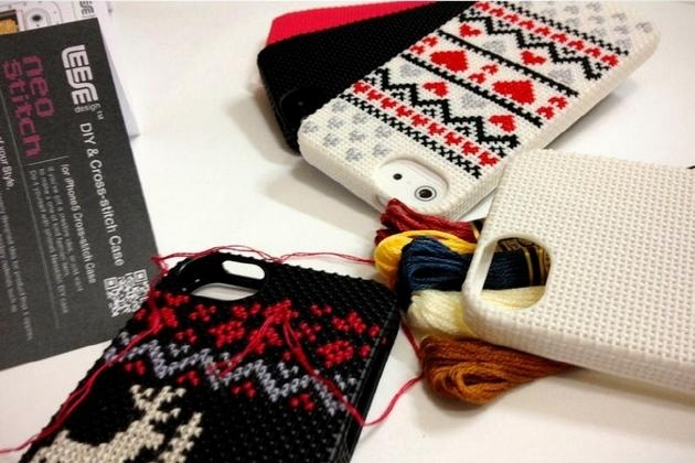 DIY and Cross Stitch iPhone Case