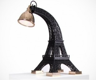 Eiffel Tower Lamp and Taj Mahal Table