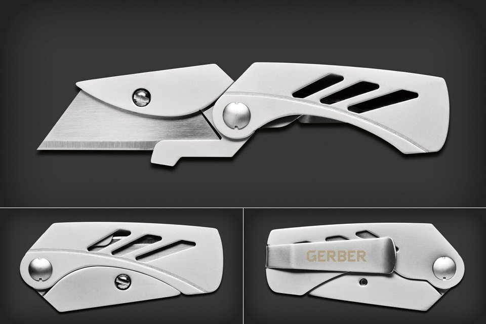 Gerber Exchange-A-Blade Pocket Knife