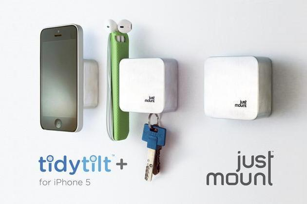 JustMount Magnetic Wall Organizer
