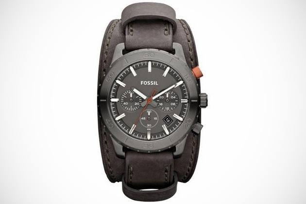 Keaton Leather Watch