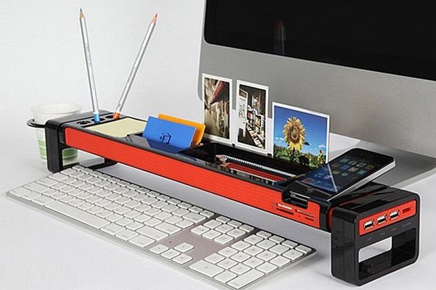 Multifunction Desktop organizer