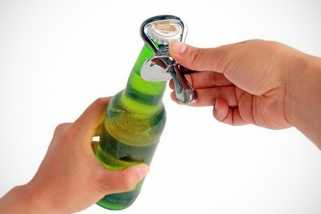 Pacifier Shaped Bottle Opener