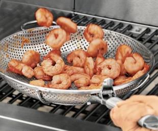 Steel Grill Fry Pan