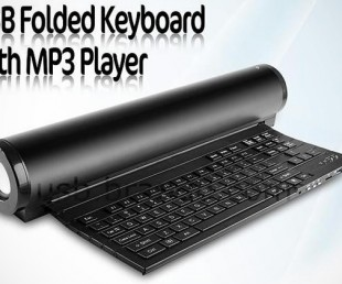 USB Folded Keyboard