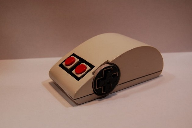 WIRELESS MOUSE MADE OF NES GAMEPAD