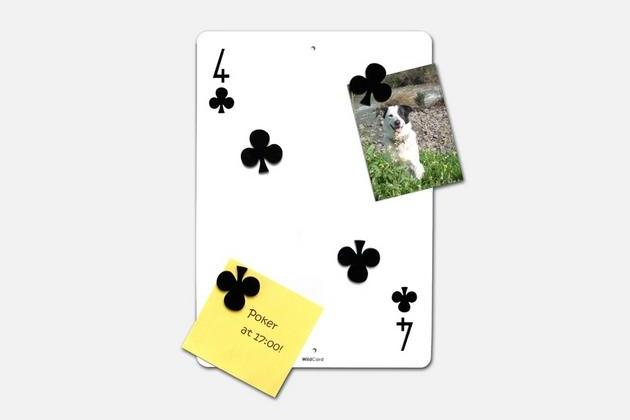 Wild Card - Wall Mounted Magnetic Board