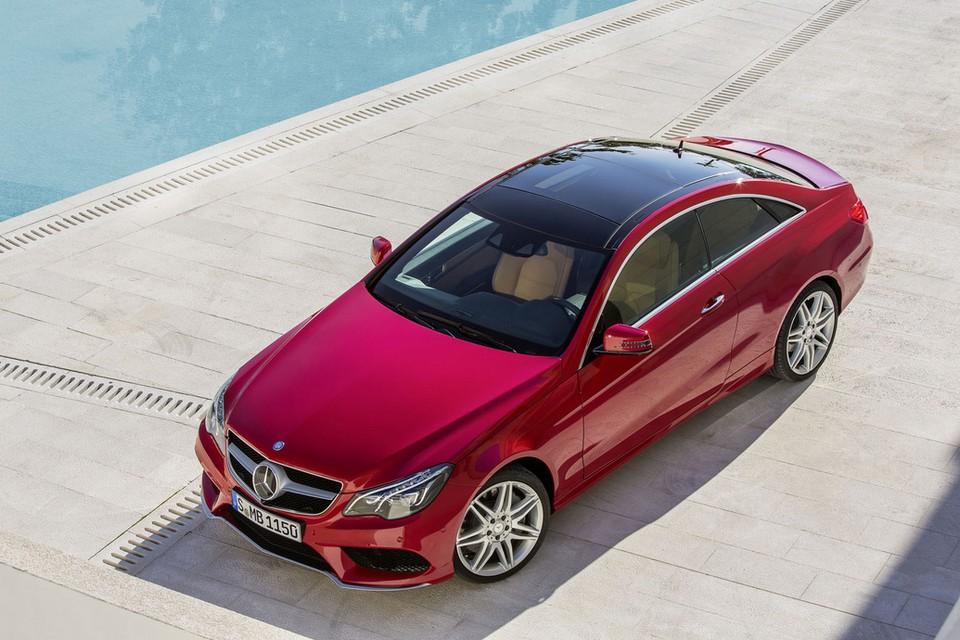 2014 Mercedes-Benz E-Class Coupe (3)