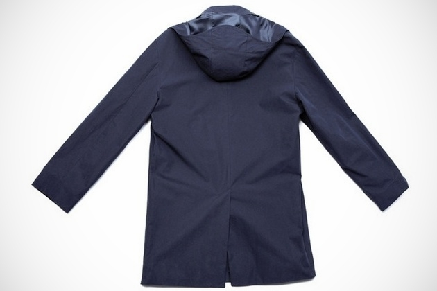 American Trench, Dark Navy Trench Coat (3)