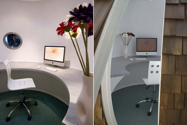 Archipod Eco-Friendly Garden Office Pod (5)