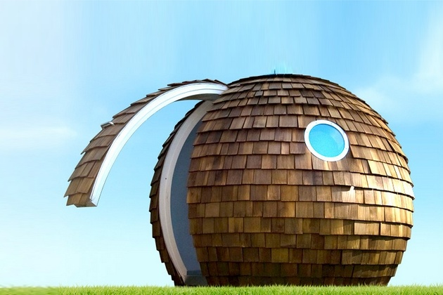 Archipod Eco-Friendly Garden Office Pod (4)