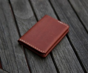 Handmade Ultra Slim Leather Wallet (3)