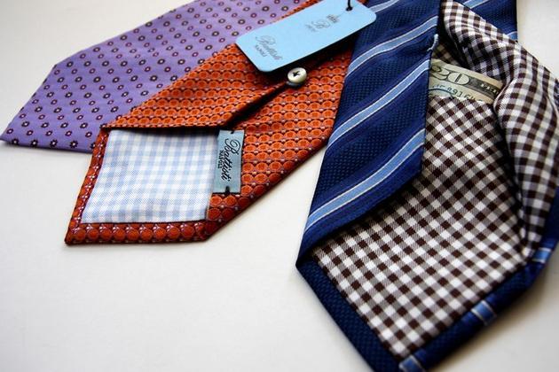 Hidden Pocket Tie