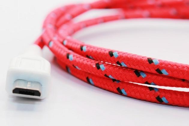 Micro USB Stripe-Design Cables (1)