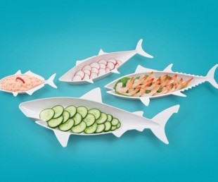 Fish-Shaped Food Nesting Dishes (2)