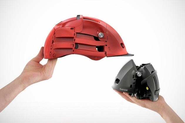 Overade Foldable Bike Helmet By Agency 360