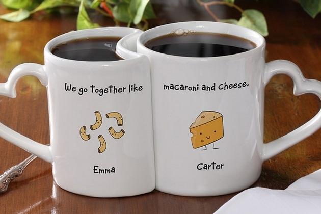 Personalized Romantic Mug Set (2)