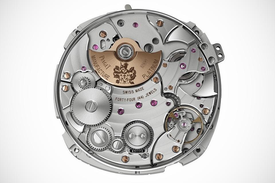 Piaget Emperador Coussin Mens Wristwatch