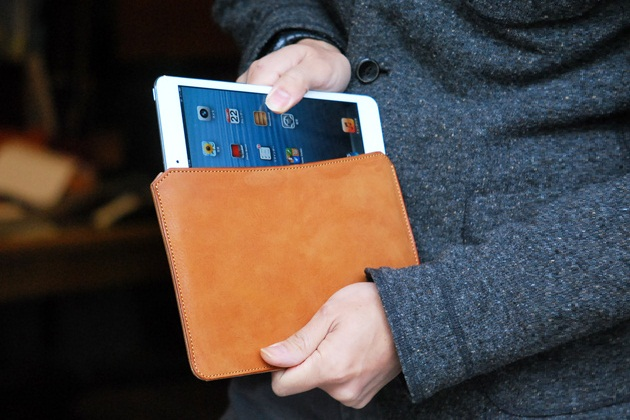 Roberu iPad-mini Leather Sleeves (1)