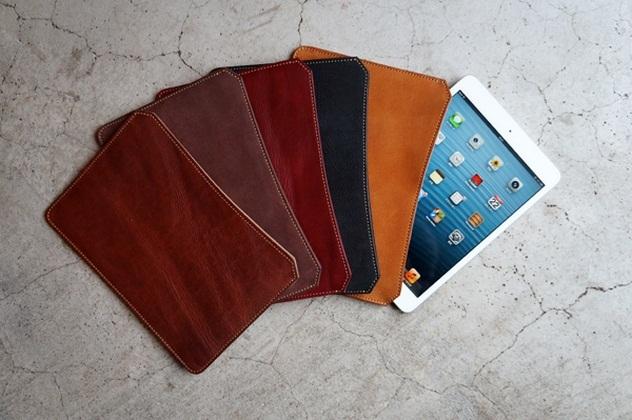 Roberu iPad-mini Leather Sleeves (2)