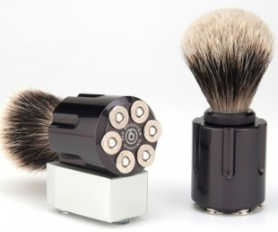 Six Shooter Shave Brushes (3)