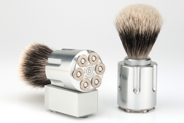 Six Shooter Shave Brushes (1)