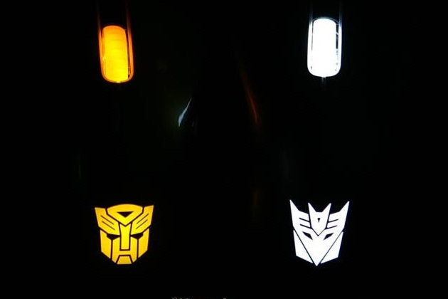 Razer DeathAdder Transformers 3 Collectors Edition Gaming Mouse - Optimus Prime (2)