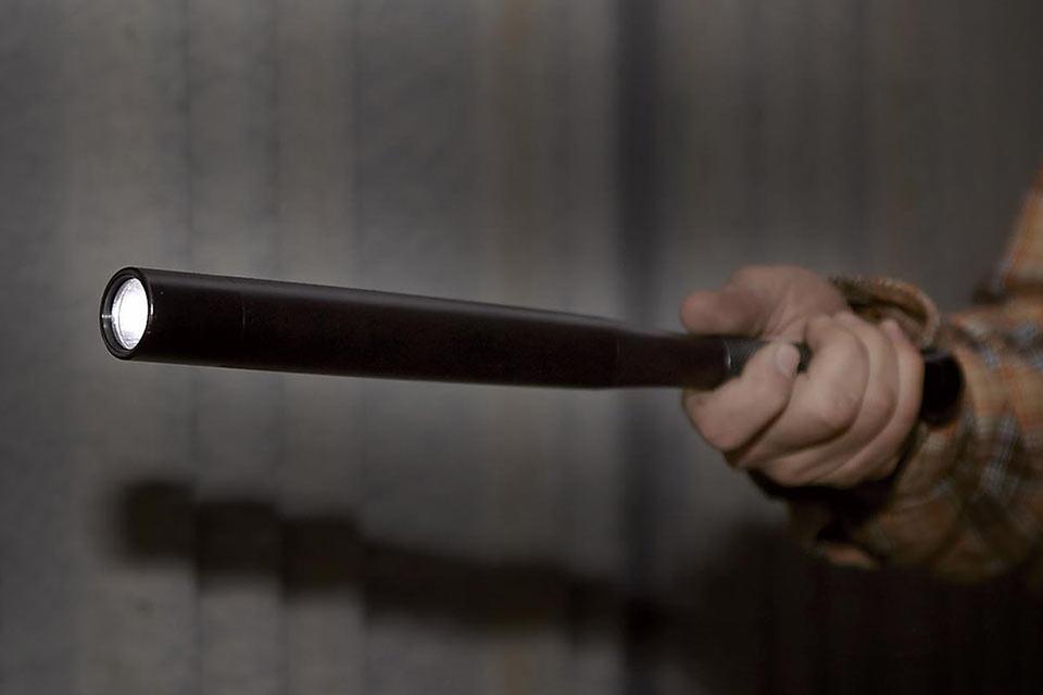 Self Defense Baseball Bat Flashlight