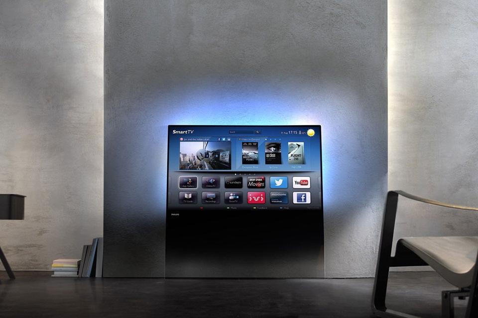 philips designline led 3d tv bonjourlife. Black Bedroom Furniture Sets. Home Design Ideas
