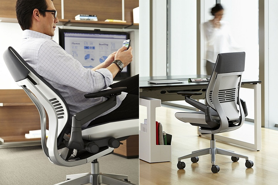 The Steelcase Gesture Chair