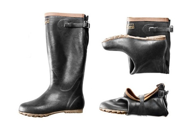 Foldable Japanese Rubber Boots