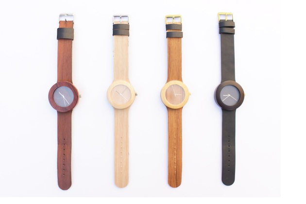 All Natural Wood Watch With Soft Strap (2)