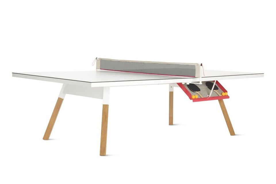 dining table with ping pong collections