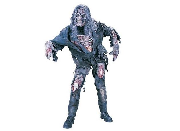 Mens Complete 3d Zombie Costume
