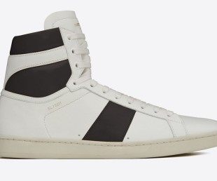 Saint Laurent Court Classic High Top Sneakers