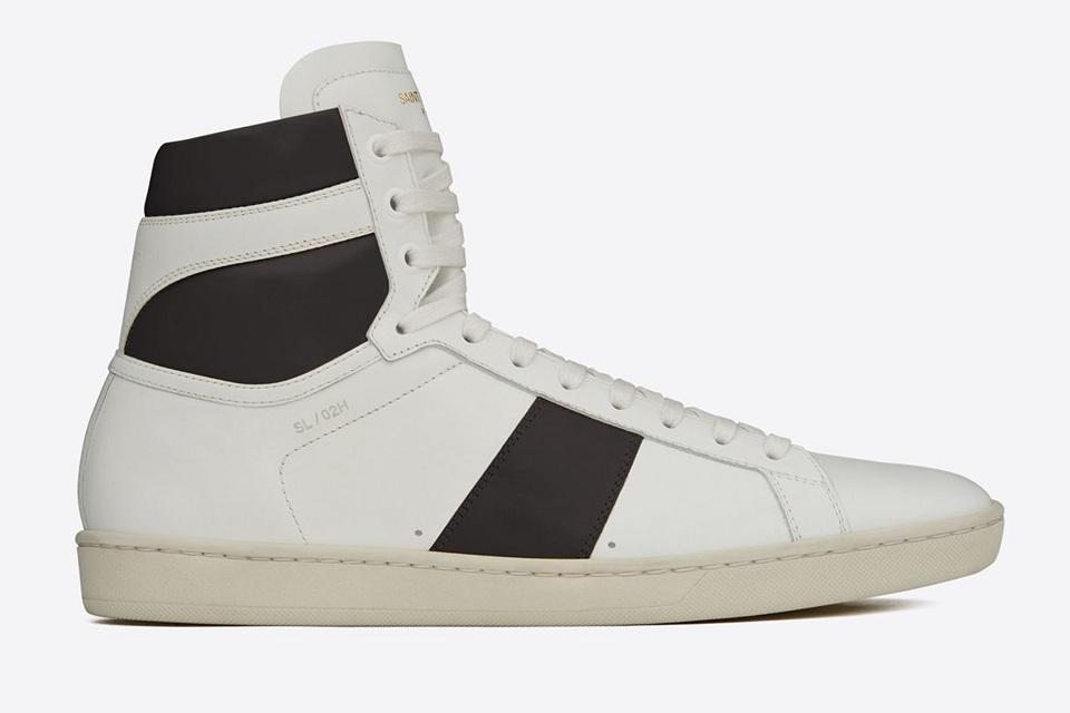 Saint Laurent Court Classic High Top Sneakers