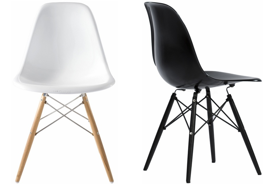 the charles eames dsw chair. Black Bedroom Furniture Sets. Home Design Ideas