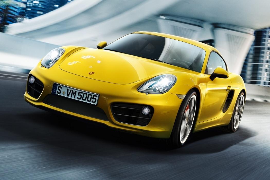 2014 Porsche Cayman S (1)
