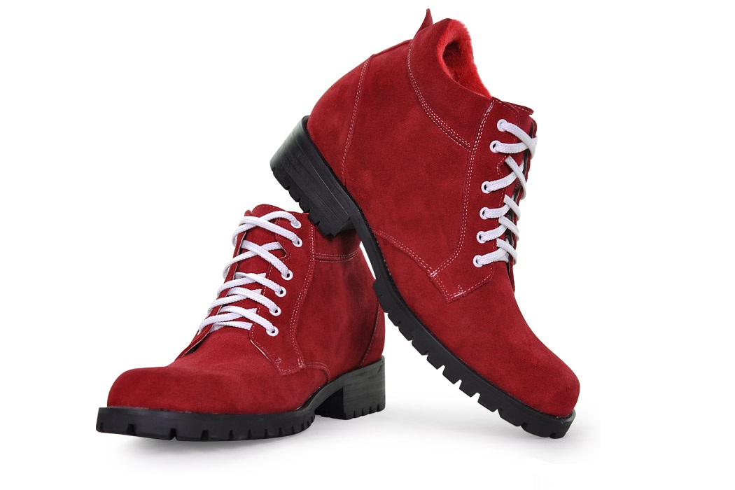 Clyne boots (Red) (2)