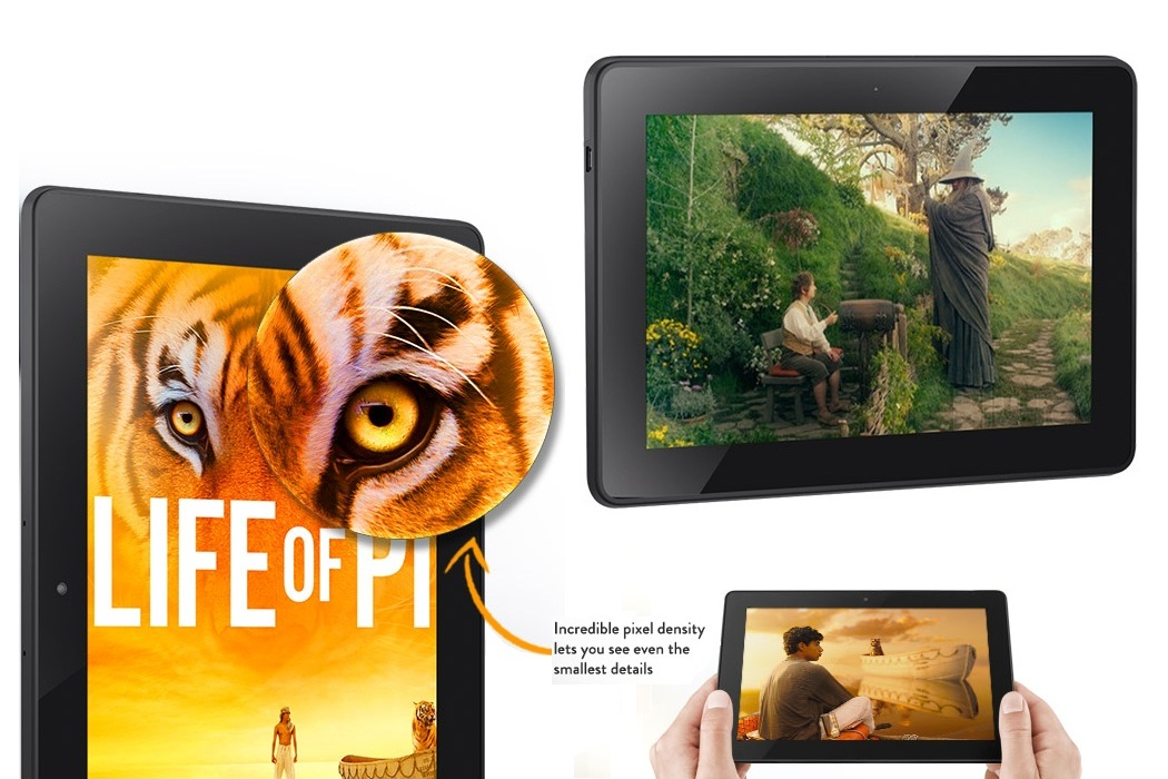 Kindle Fire HDX Tablet (2)