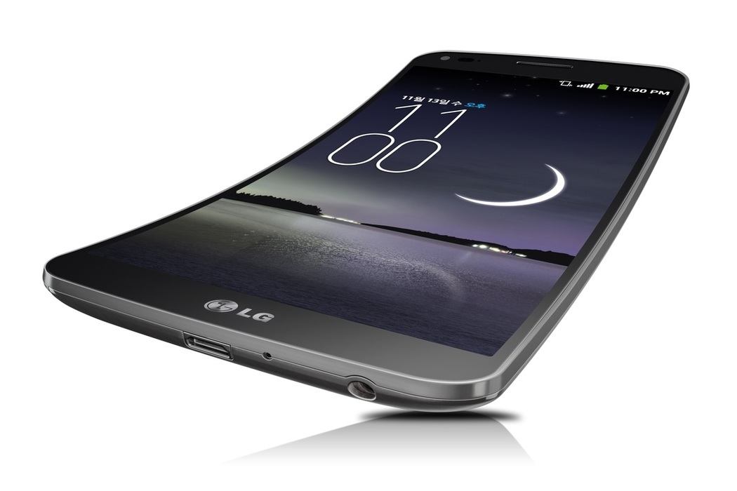 LG G Flex Vertically Curved SmartPhone