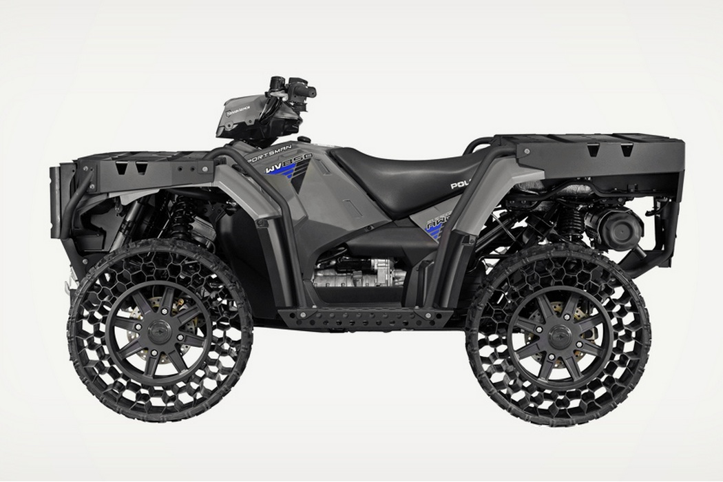 Polaris ATV Airless Tires Machine Hits The Road (2)